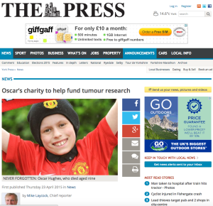 York Press Thursday 23 April 2015