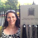 Marie Hughes at House of Lords