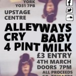 Charity Gig – All proceeds to OSCAR's – 4th March 2016