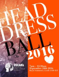 Head Dress Ball Flyer 2016