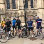 Coast to Coast team at York Minster
